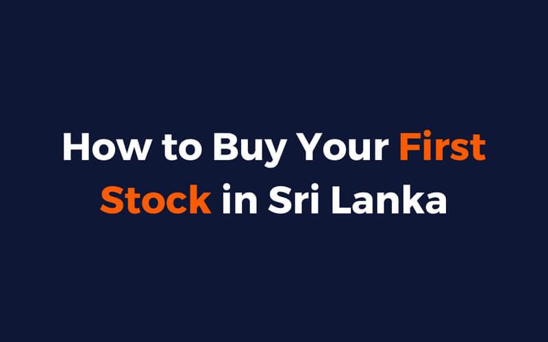 how to buy stocks sri lanka